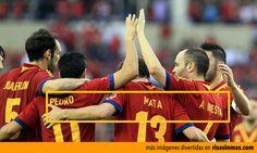 Imágenes graciosas: Nombres de la selección Española de Fútbol.