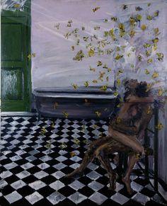 """Fabian Cerredo : Cent ans de solitude - """"El amor en el baño envuelto en una nube de mariposas amarillas"""" - 1986"""