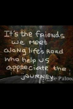 It's the friends we meet along life's roads who help us appreciate the journey. #motorcycle