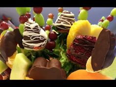 How to make an Edible Fruit Basket - YouTube