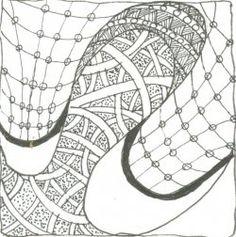Zentangle tangle 2