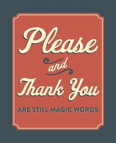 Please & Thank You Print 1 by littleminnowdesigns on Etsy