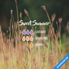Sweet Summer - Essential Oil Diffuser Blend