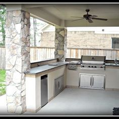 "Obtain wonderful tips on ""outdoor kitchen designs layout patio"". They are actually offered for you on our internet site. Outdoor Kitchen Patio, Casa Patio, Outdoor Kitchen Countertops, Outdoor Kitchen Design, Concrete Countertops, Outdoor Living, Small Outdoor Kitchens, Open Kitchens, Outside Patio"