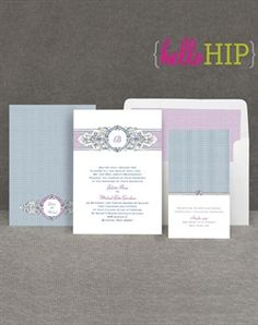 Invitations By Dawn Hip Crest – Berry Wedding Invitations - Invitations By Dawn Hip Crest – Berry Wedding Invitation. I like this style. We could do different colors too