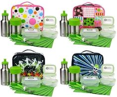 reusable lunch kits