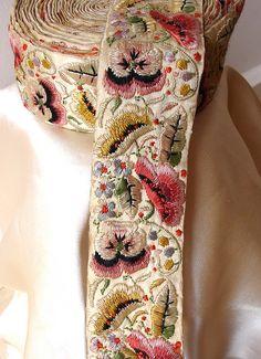 Vintage Silk Braid from Bombay | Flickr - Photo Sharing!