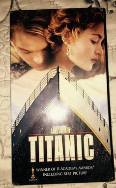 Titanic VHS 1998 2 Tape Set Pan-and-Scan Factory Sealed Leonardo Kate Movie