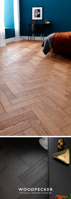 Goodrich parquet flooring is created with both natural form and long-lasting function. Laid to stand the test of time, it gets better with the memories of each footstep that's taken across its intricate patterns. Get free samples at our website.