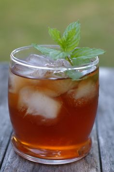 I honestly meant to make this post before the Kentucky Derby.I procrastinated like I often do.I really do think that mint julep iced tea proves that mint and Bourbon make perfect glass mates.Iced t…