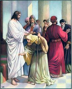 Luke 13,10-17 (Gospel on the 26th of Oct., Monday)