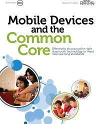 Mobile Devices and the Common Core