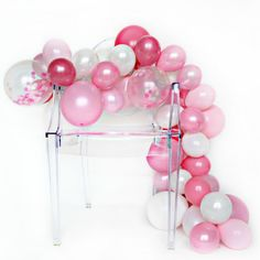 Impressive balloon arches and garlands seem to be popping up on just about every major DIY blog and party website these days. And now thanks to the One Stylish Party DIY Balloon Garland Kit, you ca…