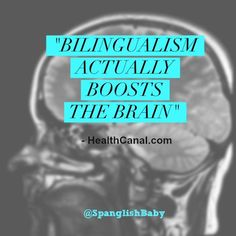 This week's article in the Health News publication, HealthCanal.com, talks about the bilingual brain! You can read full article here: Read article here: http://bit.ly/HealthCanalBilingualBrain