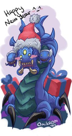 Baron Nashor wish you Happy New Year! by on DeviantArt League Of Legends, Lol, Happy New Year, Are You Happy, Wish, Sonic The Hedgehog, Geek Stuff, Deviantart, Game