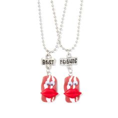 These necklaces are perfect for the #BFF bacon lovers!