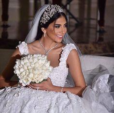 Bridal perfection #lebaneseweddings