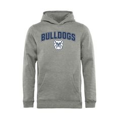 Butler Bulldogs Youth Proud Mascot Pullover Hoodie - Ash