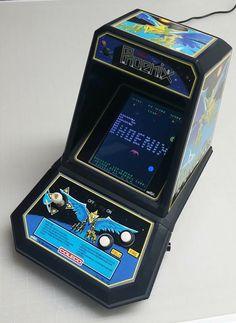 Phoenix Pi Arcade, Bartop Arcade, Arcade Games, Vintage Video Games, Retro Video Games, Vintage Games, Game Over Man, Computer Video Games, Nintendo