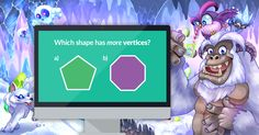 Question comparing vertices of two shapes