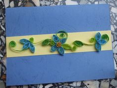 Quilled card by shirin's hobbies, via Flickr