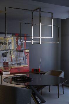 Mondrian Led Chandelier