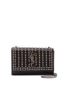 f84bb63b29 Kate Monogram YSL Small Studded Leather Chain Crossbody Bag Saint Laurent  Bag