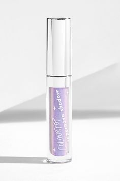 From the Valley lavender with a pink/blue flip Supernova liquid Eyeshadow