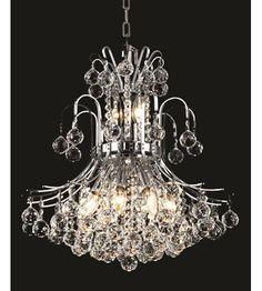 Buy the Elegant Lighting Elegant Cut Clear Crystal Direct. Shop for the Elegant Lighting Elegant Cut Clear Crystal Toureg Two-Tier Crystal Chandelier, Finished in Chrome with Clear Crystals and save. Faceted Crystal, Crystal Ball, Clear Crystal, Lighting Store, Chandelier Lighting, Chandeliers, Home Decor Outlet, Cozy House, Chrome