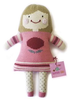 *NEW* Hand Knit Dolls!