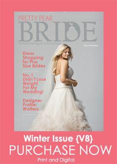 {Plus Size Wedding Dress of the Week} Wtoo Curvy Collection ~ Bellavista | The Pretty Pear Bride