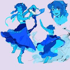 Couldn't find the artist Cartoon Network, Steven Universe Pictures, Steven Universe Lapis, Lapis And Peridot, Universe Art, Cartoon Shows, Character Art, Film, Anime Art