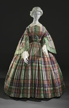 Dress  1855  The Los Angeles County Museum of Art