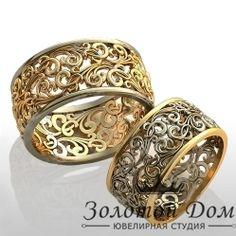 Обручальные кольца., артикул YJ-884, Обруч. кольца без камней