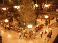 Old Faithful Lodge Yellowstone National Park, WY
