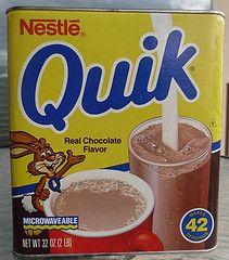 1989 Nestle Quik tin