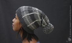 Today, I 'Plaid' about with Tartan!!! ;-) {groan}  I used the Addi Kingsize to make this hat. I like quick projects like this because it makes a great last-minute gift and will still ha...