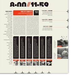 24//7 - Tel Aviv based Magazine by Moshik Nadav on Editorial Design Served