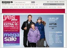Kohl's Coupon 20% off entire purchase no kohls card required Memorial Day Sale