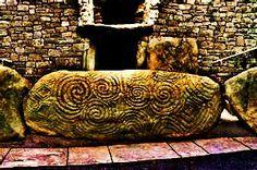 Newgrange doorway