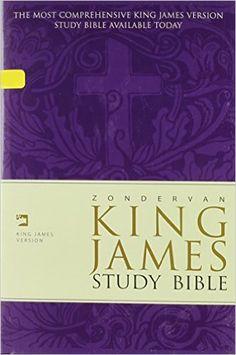 Zondervan KJV Study Bible: Ed E. Hindson: 9780310918936: Amazon.com: Books
