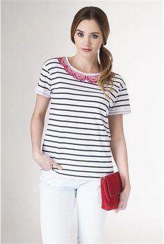 Tricou,+alb How To Wear, Tops, Women, Fashion, Moda, Women's, Fashion Styles, Woman, Fasion