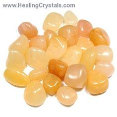 Tumbled Yellow Aventurine - Tumbled Stones- Yellow Aventurine - Healing Crystals