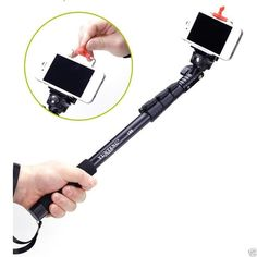 Selfie Stick with Bluetooth Remote For better high angle shots, low angle shots and other angles that are beyond the normal hand held shooting range. The Expandable Hand-held Digital Camera Monopod 42 -123cm enables you to extend your reach for self portrait shots - An ideal companion for your camera, perfect for your iPhone, Samsung Galaxy Note, Samsung Galaxy S3, S4, S5, S6, Nokia Lumia, HTC One, during your travels and vacation OUR ITEM CODE: SSTICK-REMOTE ONLY R230 Excluding VAT