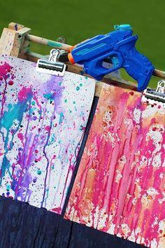 25 Super Fun Summer Crafts for Kids Fun Diy Crafts fun cute diy crafts Summer Crafts For Kids, Summer Kids, Diy For Kids, Kids Fun, Busy Kids, Summer Snow, Picnic Games For Kids, Art Games For Kids, Winter Fun