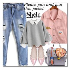 """Shein contest"" by aida-nurkovic ❤ liked on Polyvore featuring WithChic"