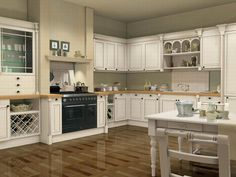 functional kitchen triangle
