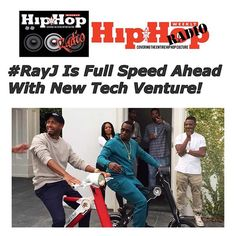 """The always enterprising Ray J has shifted his focus off reality show fame and on to becoming a major player in the...""--read more at Hiphopweeklyradio.com ! - blogged by me @invadingmars  #rayj #scootebike #tech #startup #raytroniks #electronics #hiphopweekly  #hiphopweeklyradio #HHWR"