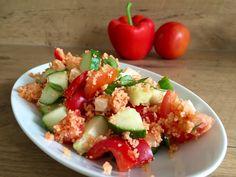 Einfacher Couscous-Salat mit Feta