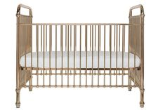 A classical and timeless baby cot. Ellie comes in a beautiful rose gold finish. Features stationery side rails and two mattress heights.